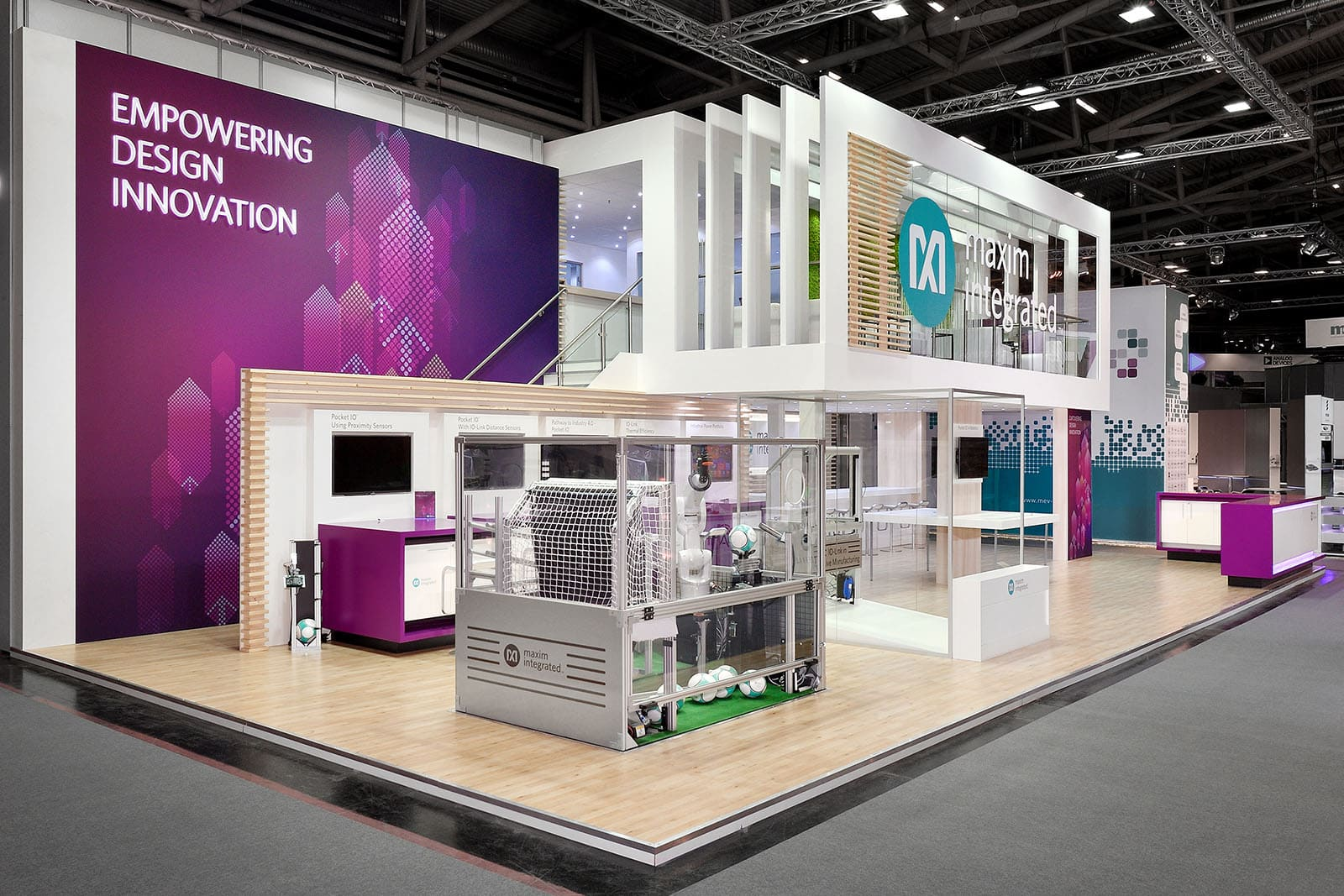 Maxim Exhibit Booth by Nebula Exhibits