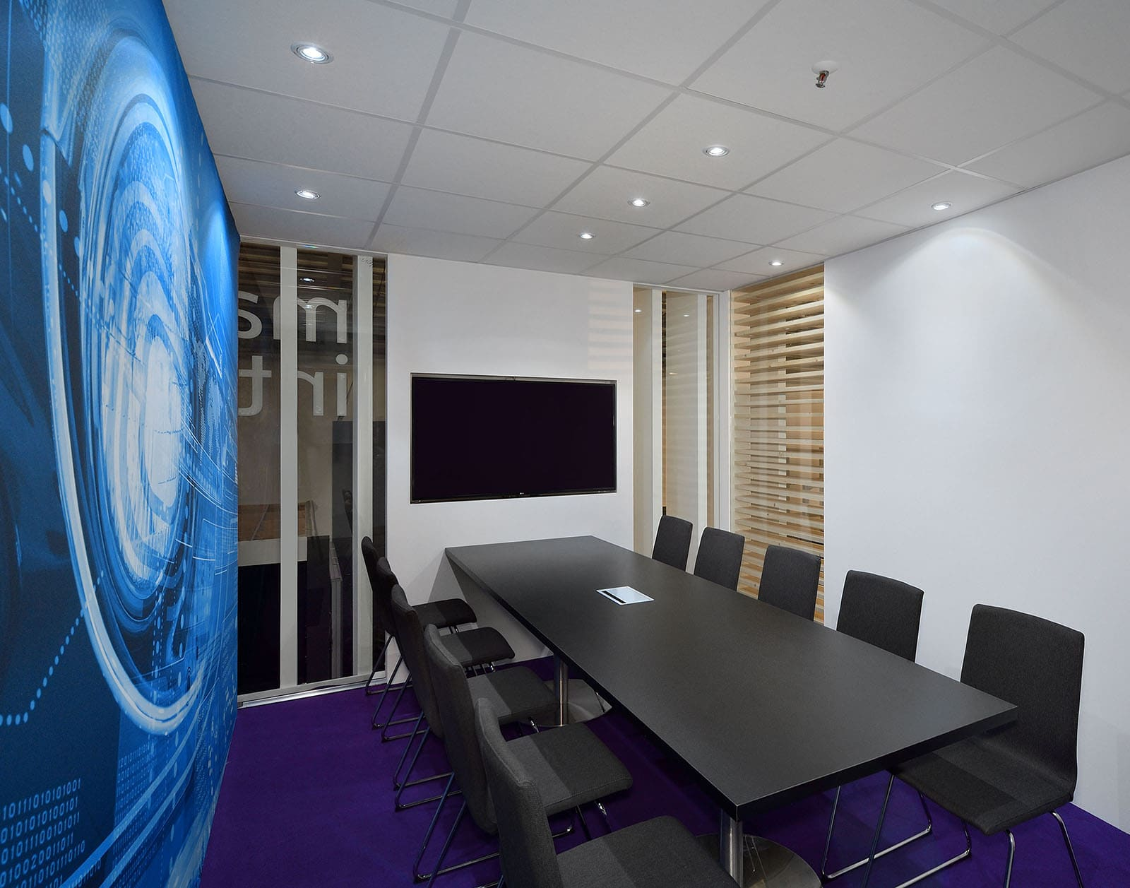 Maxim Exhibit Stand Interior Room by Nebula Exhibits