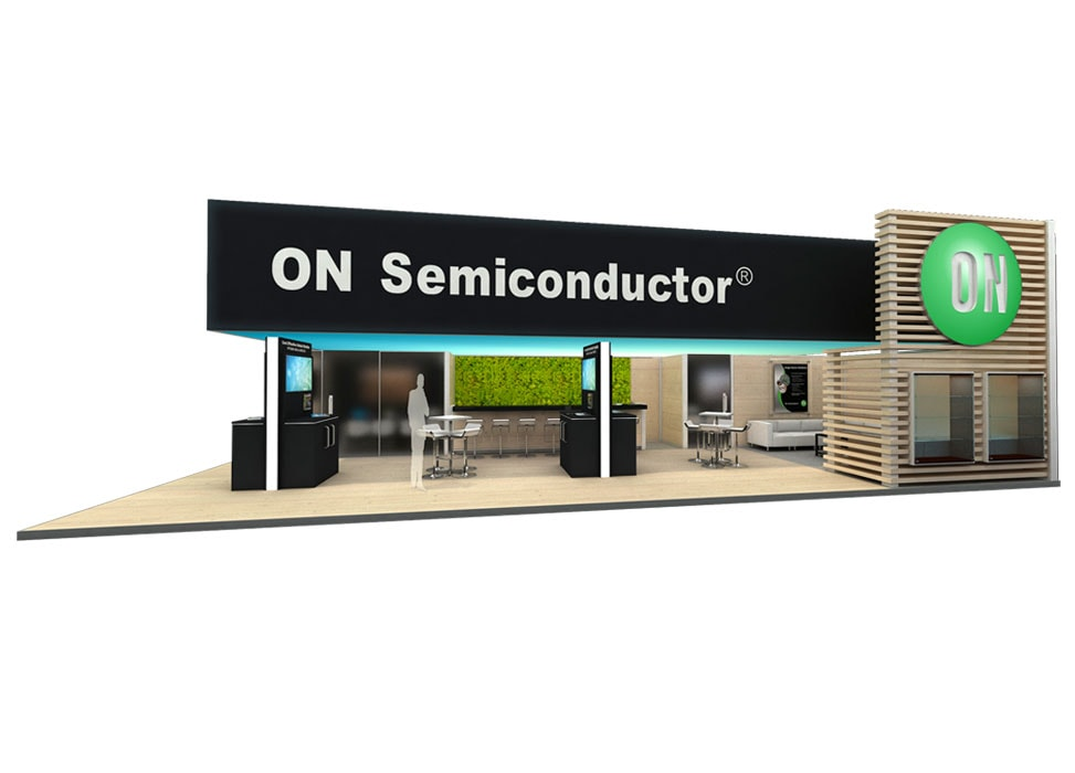 ON Semiconductor Trade Show Booth by Nebula Exhibits