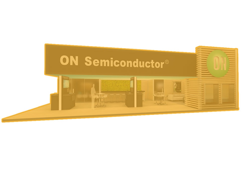 ON Semiconductor Booth by Nebula Exhibits
