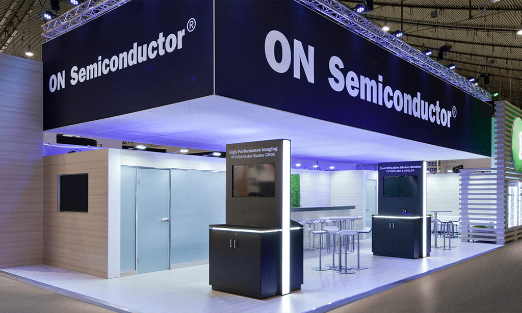 ON Semiconductor Exhibit by Nebula Exhibits