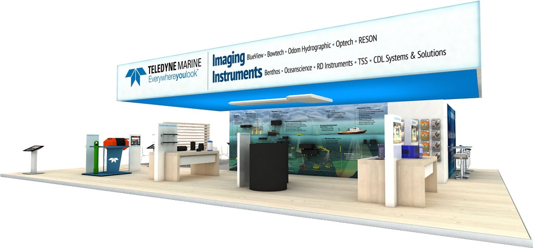 Teledyne Booth by Nebula Exhibits