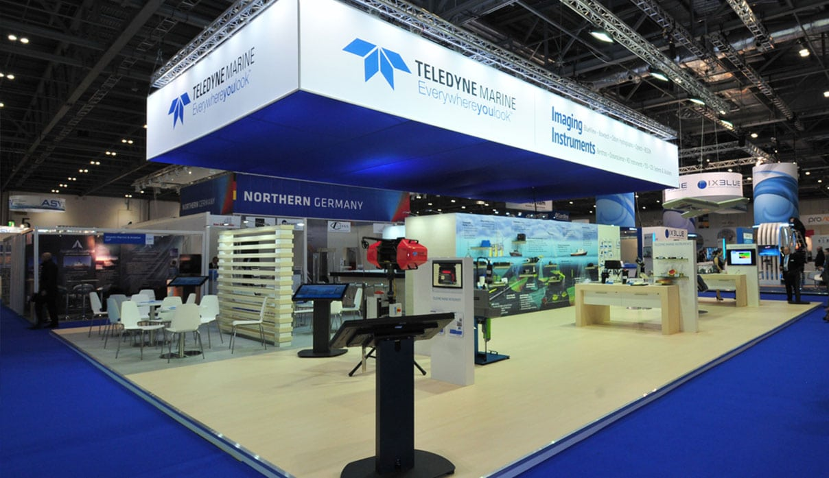 Teledyne Marine Exhibition by Nebula Exhibits