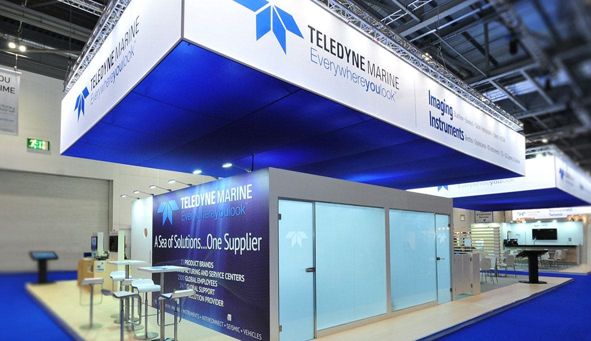 Teledyne Marine Exhibit by Nebula Exhibits